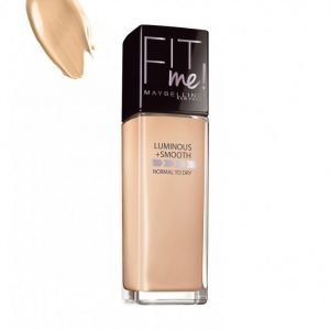 Maybelline Fit Me Foundation Luminous & Smooth Meikkivoide Nude Beige