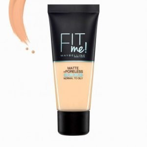 Maybelline Fit Me Matte & Poreless Foundation 30 Ml Meikkivoide Natural Beige
