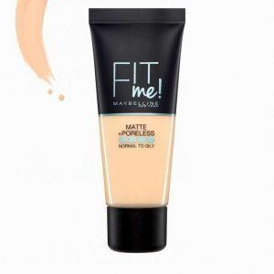 Maybelline Fit Me Matte & Poreless Foundation 30 Ml Meikkivoide Warm Nude