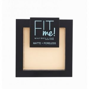 Maybelline Fit Me Matte & Poreless Powder Puuteri Natural Ivory