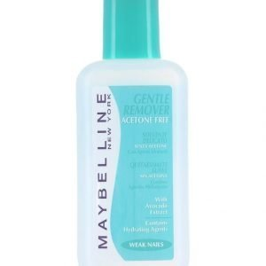 Maybelline Gentle Nail Polish Remover Kynsilakanpoistoaine