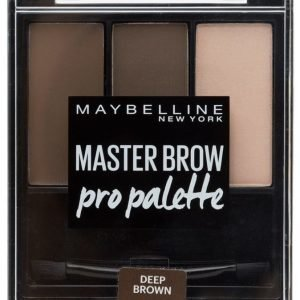 Maybelline Master Brow Kit Kulmavärisetti Deep Brown