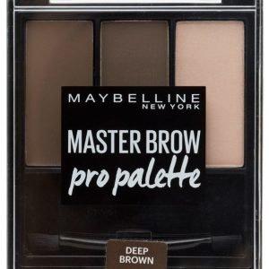 Maybelline Master Brow Kit Kulmavärisetti Deep Brown