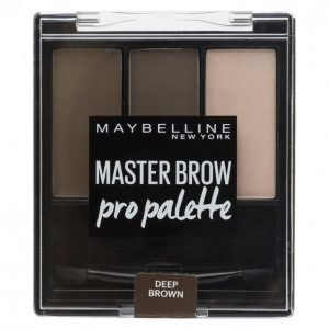 Maybelline Master Deep Brown Kulmienmuotoilusetti