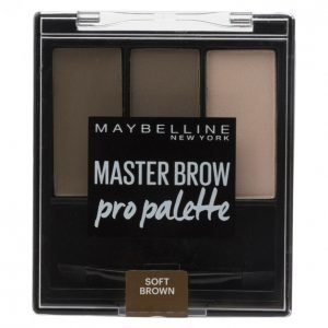 Maybelline Master Soft Brown Kulmienmuotoilusetti