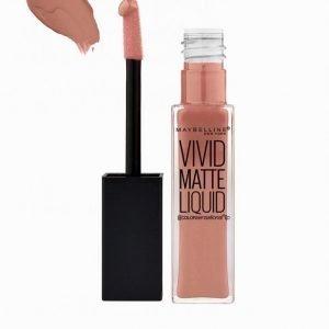 Maybelline Vivid Matte Liquid Lipstick Huulipuna Blushing Nude