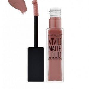 Maybelline Vivid Matte Liquid Lipstick Huulipuna Grey Obsession