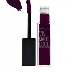 Maybelline Vivid Matte Liquid Lipstick Huulipuna Plum