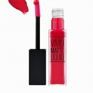 Maybelline Vivid Matte Liquid Lipstick Huulipuna Rebel Red
