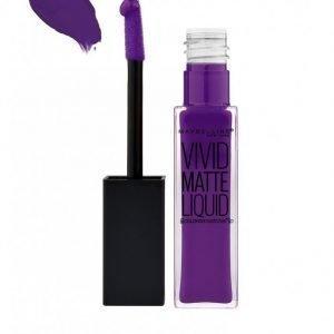 Maybelline Vivid Matte Liquid Lipstick Huulipuna Violet Femme