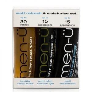 Men-Ü Matt Refresh And Moisturise Set 15 Ml 3 Products