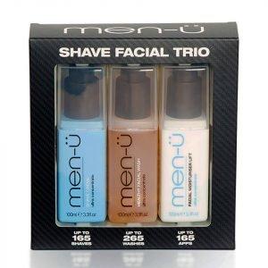 Men-Ü Shave Facial Trio Set