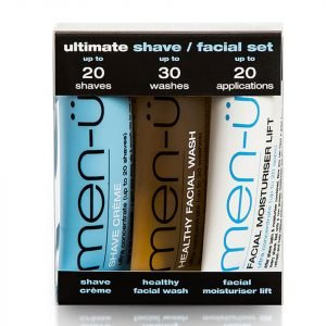 Men-Ü Ultimate Shave Facial Set 15 Ml 3 Products