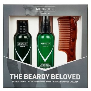 Men Rock The Beardy Beloved Beard Care Starter Kit Sicilian Lime