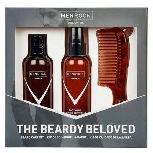 Men Rock The Beardy Beloved Starter Beard Care Kit Soothing Oak Moss