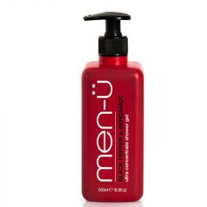 Men-U Black Pepper & Bergamot Shower Gel 500 Ml