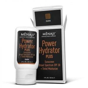 Menaji Power Hydrator Plus Broad Spectrum Sunscreen Spf30 + Tinted Moisturiser Dark 30 Ml
