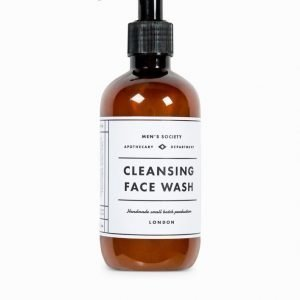 Men's Society Face Wash White