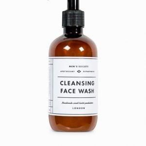 Men's Society Face Wash White