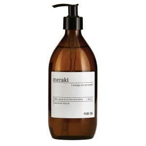 Meraki Pure Oil Vartaloöljy Appelsiini / Kurjenpolvi 500 Ml