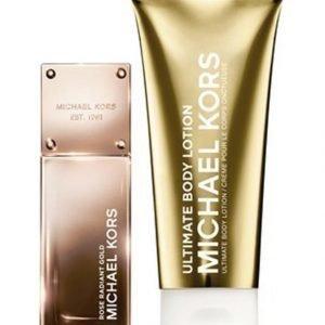 Michael Kors Rose Radiant Gold Radiant Edp Tuoksu 50 ml + Vartalovoide 100 ml