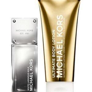Michael Kors White Luminous Gold Edp Tuoksu 50 ml + Vartalovoide 100 ml