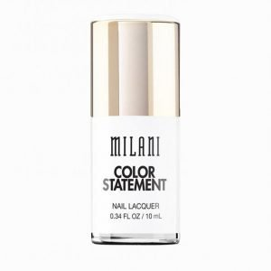 Milani Color Statement Nail Lacquer Kynsilakka White Bright