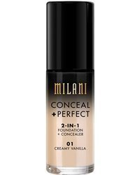 Milani Conceal & Perfect 2 in 1 Foundation Cream Vanilla