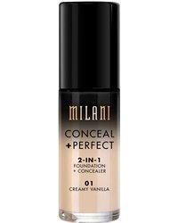 Milani Conceal & Perfect 2 in 1 Foundation Cream Vanilla