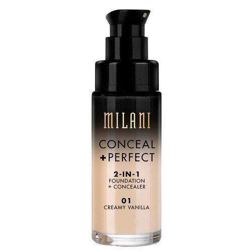 Milani Conceal & Perfect Liquid Foundation GOLDEN TOFFEE