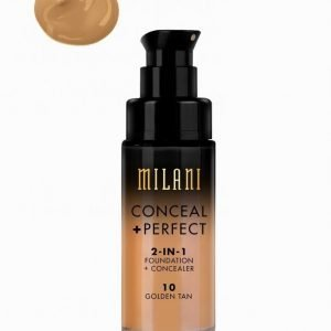 Milani Conceal & Perfect Liquid Foundation Meikkivoide Golden Tan