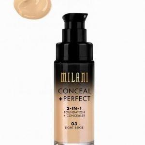 Milani Conceal & Perfect Liquid Foundation Meikkivoide Light Beige