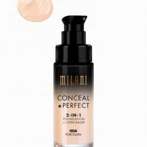 Milani Conceal & Perfect Liquid Foundation Meikkivoide Porcelain