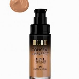 Milani Conceal & Perfect Liquid Foundation Meikkivoide Spiced Almond