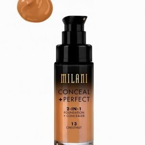 Milani Conceal & Perfect Liquid Foundation Peitevoide Chestnut