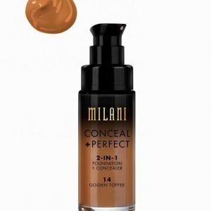 Milani Conceal & Perfect Liquid Foundation Peitevoide Golden Toffee