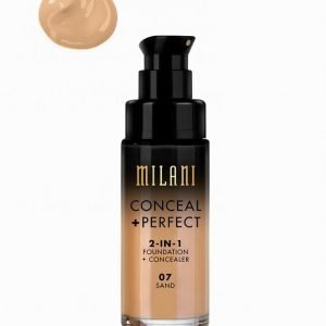 Milani Conceal & Perfect Liquid Foundation Peitevoide Hiekka