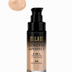 Milani Conceal & Perfect Liquid Foundation Peitevoide Medium Beige