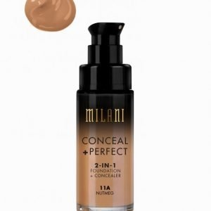 Milani Conceal & Perfect Liquid Foundation Peitevoide Nutmeg