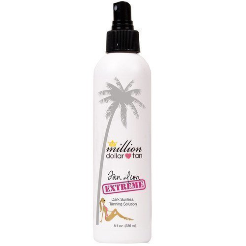 Million Dollar Tan Tan Icon Extreme Moisturizing Dark Sunless Tanning Solution
