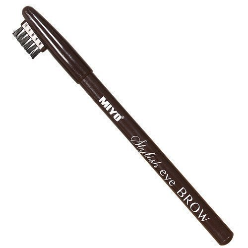 Miyo Stylish Eyebrow Pen 01 Black