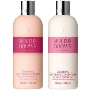 Molton Brown Cloudberry Nurturing Shampoo & Conditioner 300 Ml Bundle