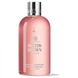 Molton Brown Delicious Rhubarb And Rose Bath And Shower Gel 300 Ml
