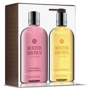 Molton Brown Intoxicating Davana Blossom And Lemon & Mandarin Hand & Body Set