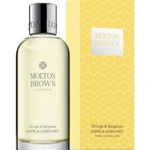 Molton Orange & Bergamot Home & Linen Mist Huonetuoksu 100 ml