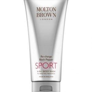 Molton Re Charge Black Pepper Sport 4 In 1 Body Wash Suihkusaippua 200 ml