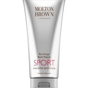 Molton Re Charge Black Pepper Sport Body Scrub Kuorintavoide 200 ml