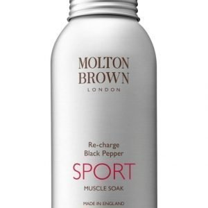 Molton Re Charge Black Pepper Sport Muscle Soak Kylpysuola 403 g