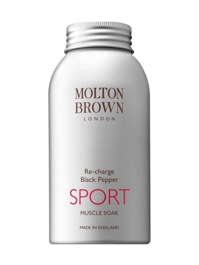Molton Re Charge Black Pepper Sport Muscle Soak Kylpysuola 403 g