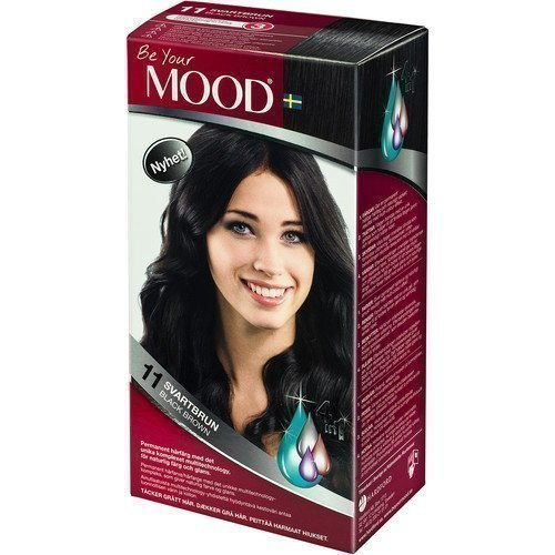 Mood Haircolor 11 Black Brown